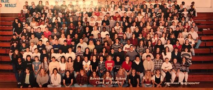 Senior Class Photo 1997